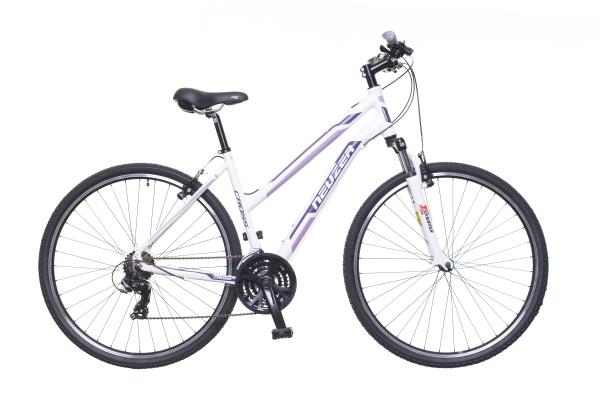 Neuzer X100 női cross kerékpár - fehér - 19