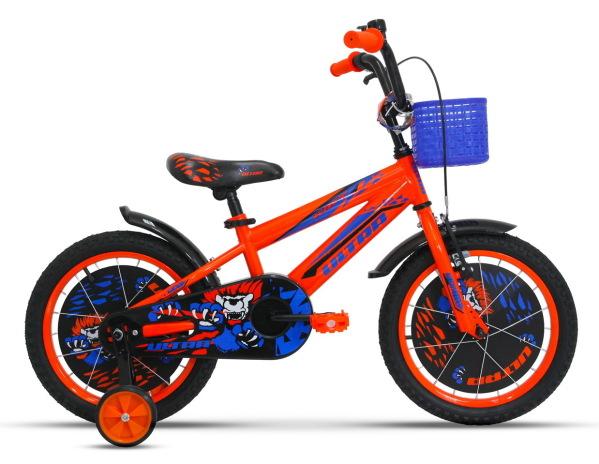 """ULTRA Kidy 16"""" gyermek kerékpár - narancs"""
