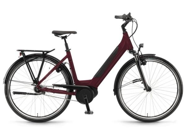 Winora Sinus iN7f női 26 pedelec kerékpár - piros - 46 cm (2019)