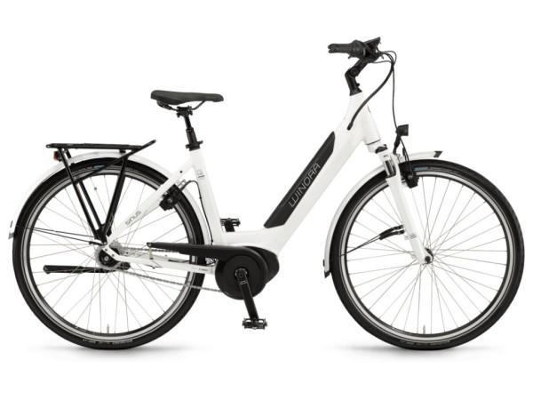 Winora Sinus iN8f női 28 pedelec kerékpár - fehér - 54 cm (2019)