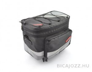 Pletscher Basilea táska csomagtartóra - fekete