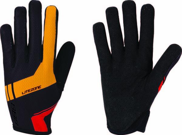 BBB LiteZone hosszú ujjú kesztyű - fekete/narancs - M