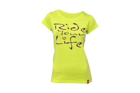 Kellys Ride Your Life női póló - lime - XXL