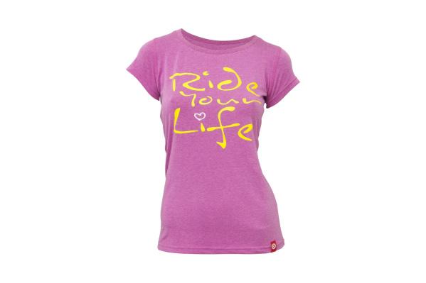 Kellys Ride Your Life női póló - pink - XL