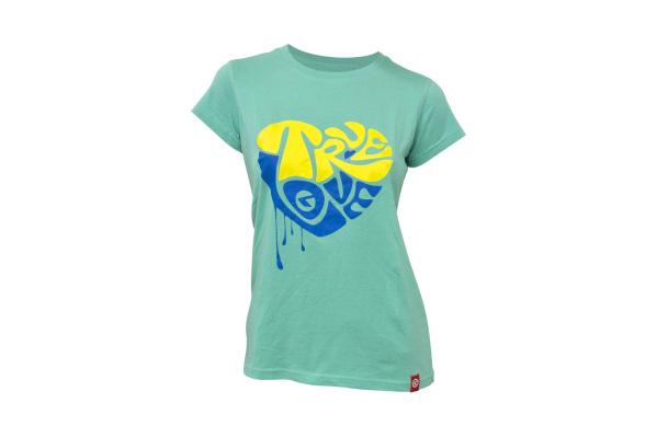 Kellys True Love női póló - türkiz - XL