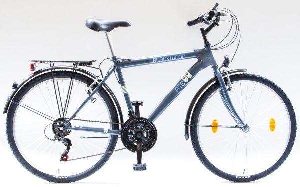"""Csepel BlackWood ATB 18sp férfi 26"""" városi kerékpár - szürke"""