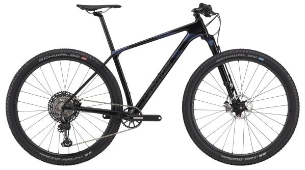 "Cannondale F-Si Carbon 2 férfi 29"" MTB kerékpár - fekete - L (2020)"