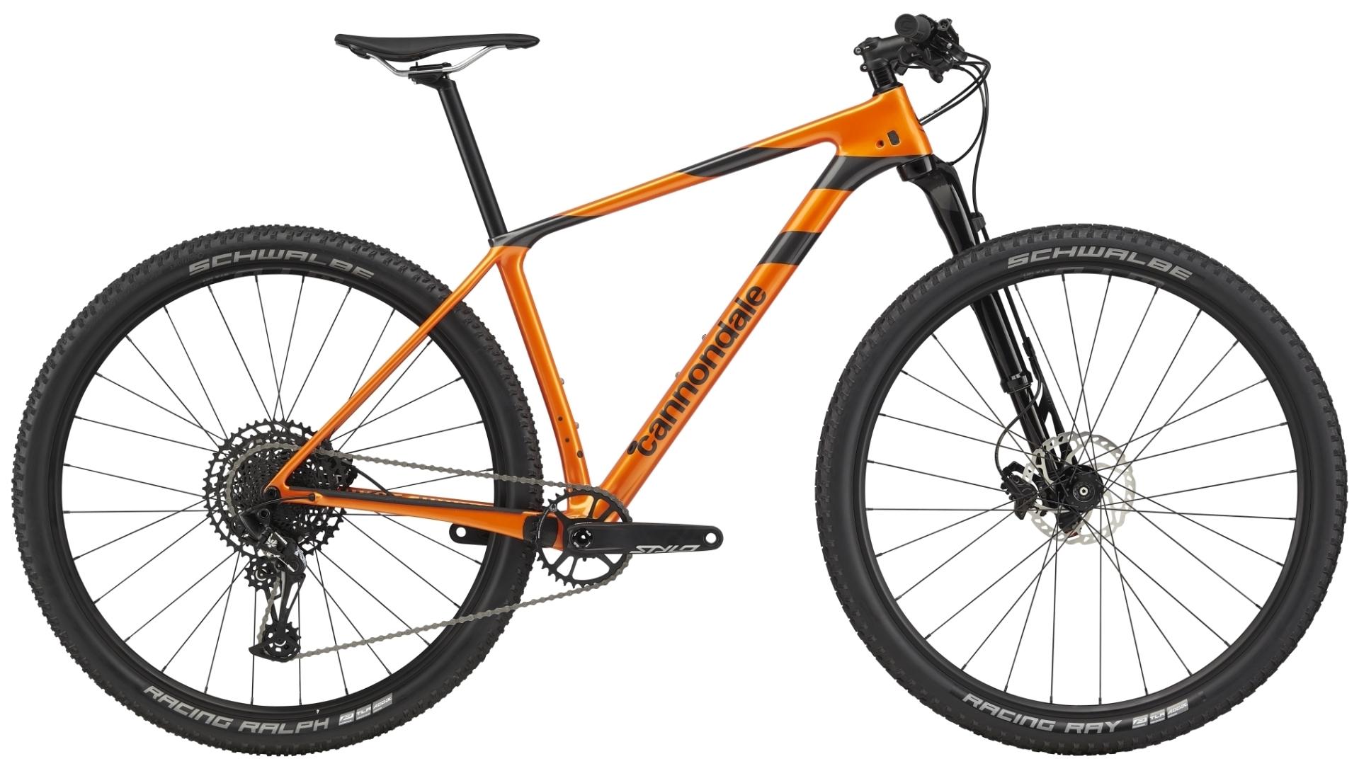 """Cannondale F-Si Carbon 4 férfi 29"""" MTB kerékpár - narancs - L (2020)"""