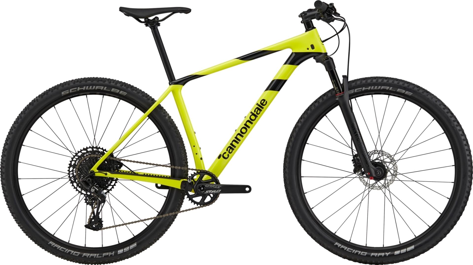 "Cannondale F-Si Carbon 5 férfi 29"" MTB kerékpár - sárga - S (2020)"