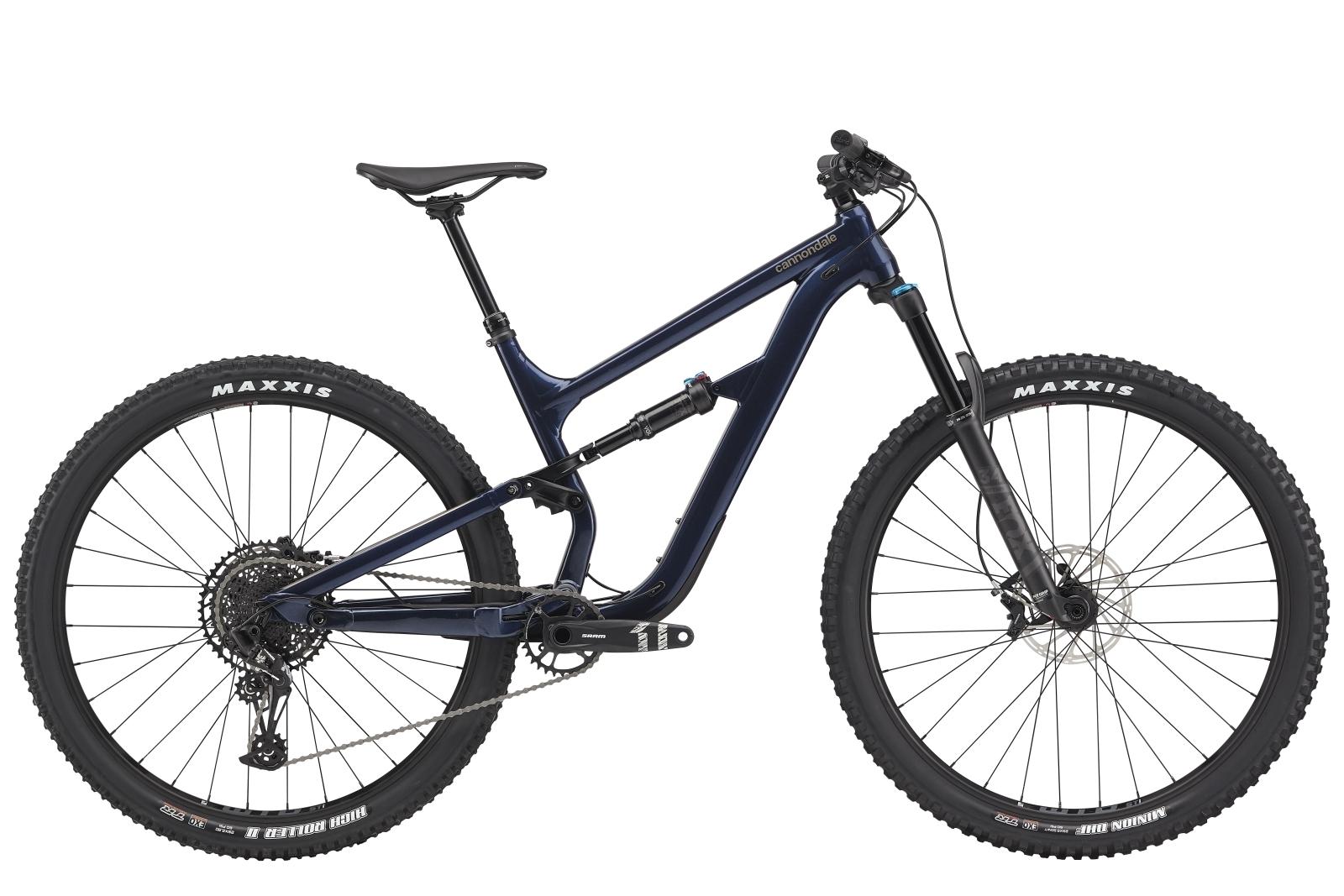 """Cannondale Habit 4 férfi 29"""" Trail kerékpár - sötétkék - S (2020)"""
