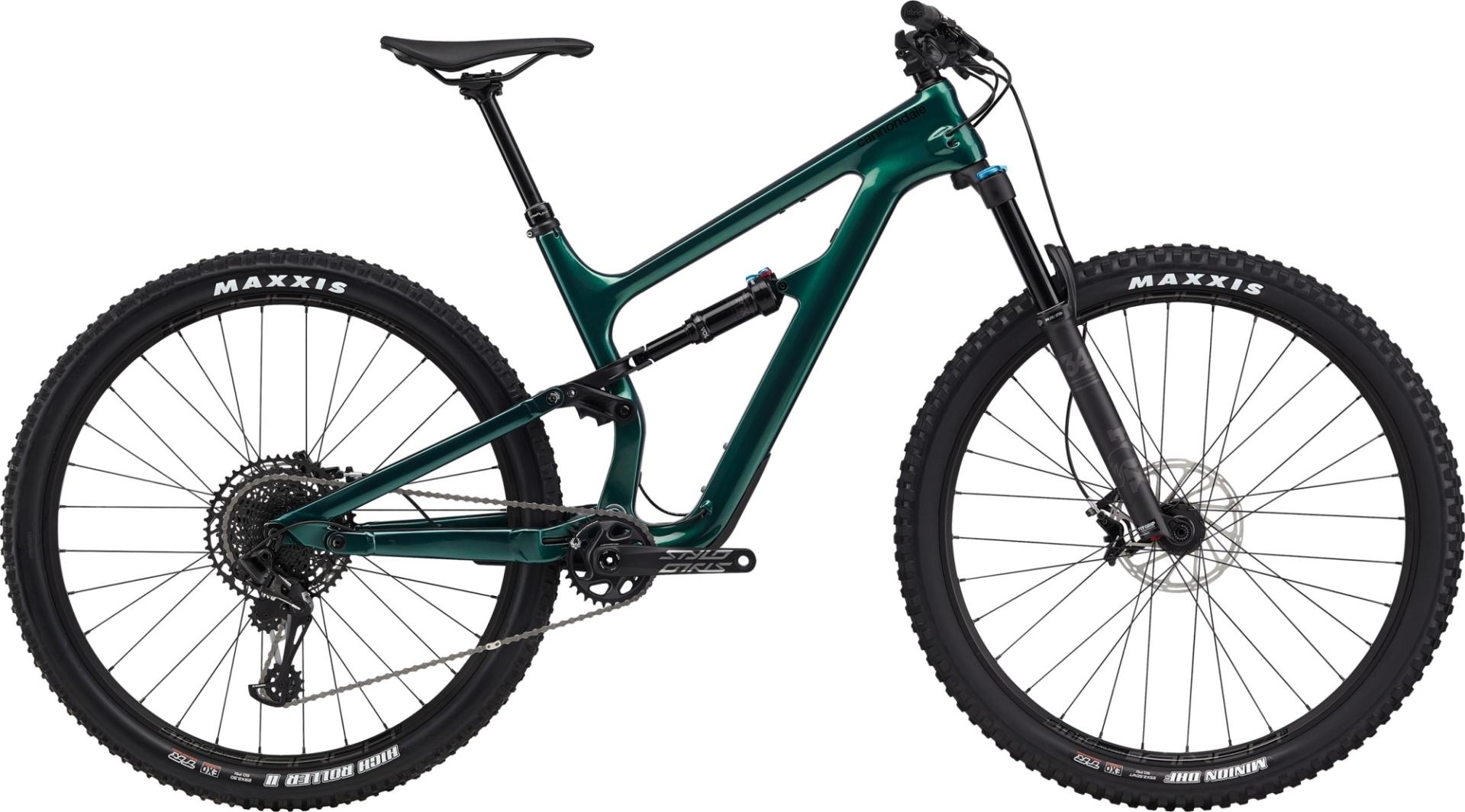 """Cannondale Habit Carbon 3 férfi 29"""" Trail kerékpár - zöld - XL (2020)"""
