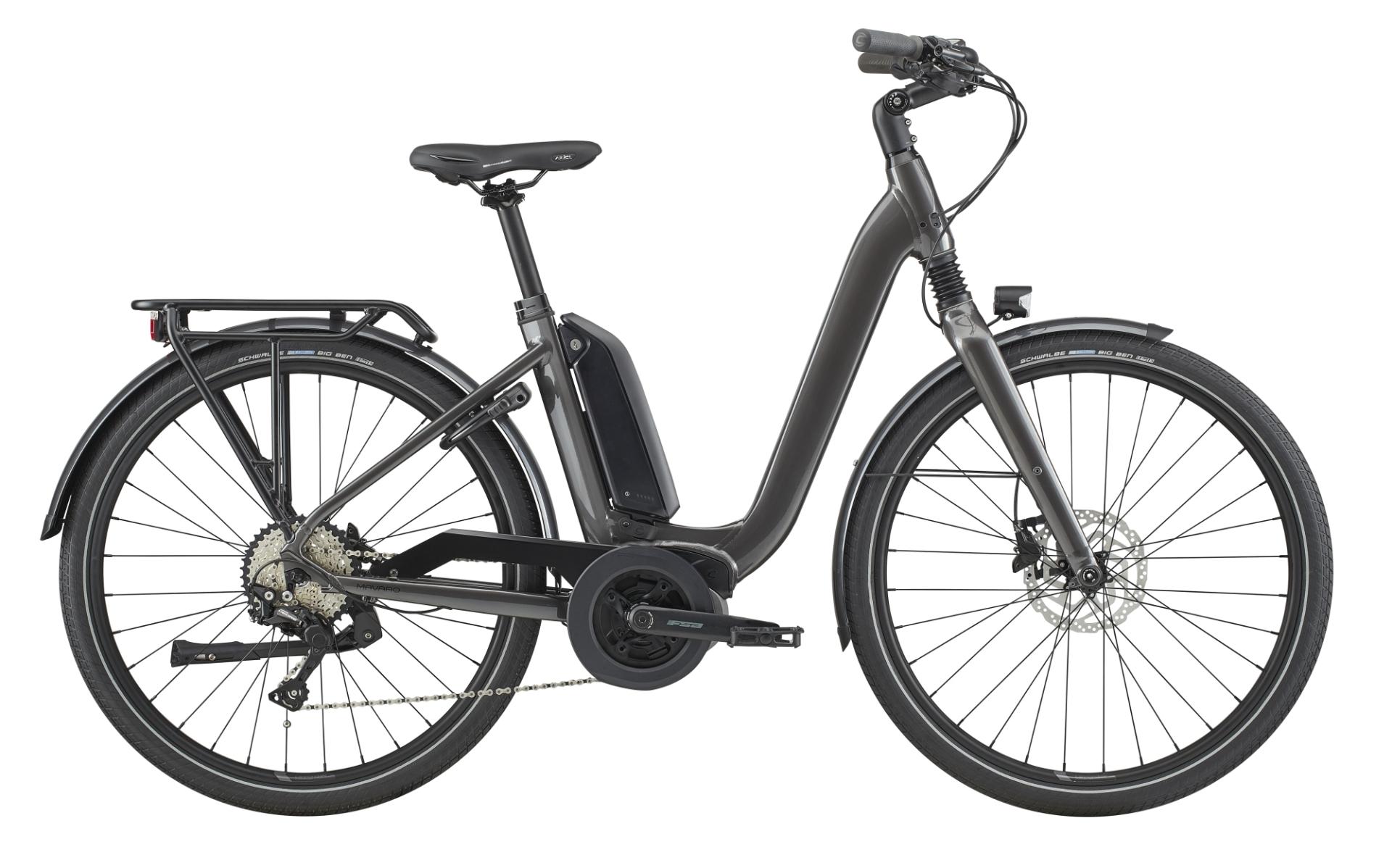 Cannondale Mavaro Neo City 3 pedelec városi kerékpár - szürke - 52 cm (2020)