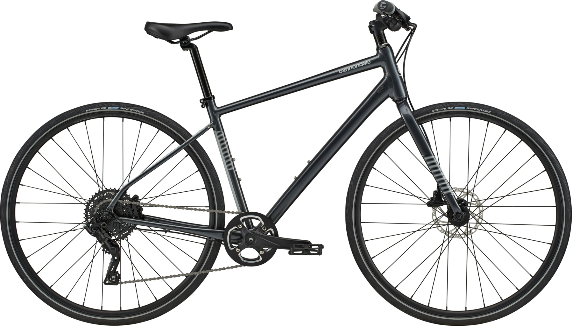 Cannondale Quick 4 Disc férfi fitness kerékpár - szürke - L (2020)