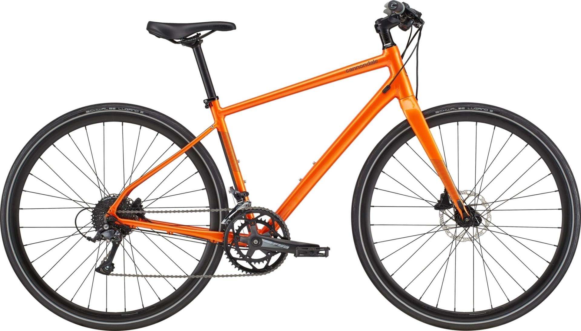 Cannondale Quick Disc 2 fitness kerékpár - narancssárga - L (2020)