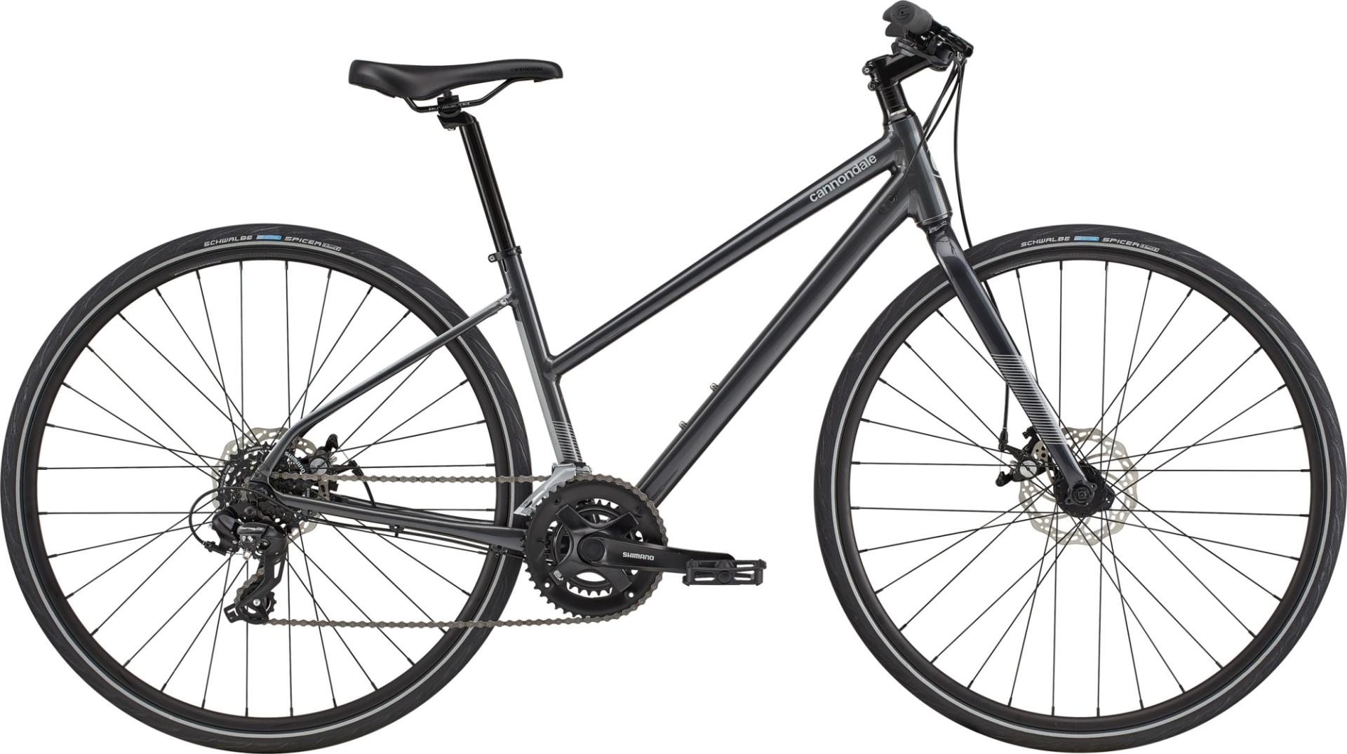 Cannondale Quick Disc 3 REMIXTE női fitness kerékpár - szürke - S (2020)