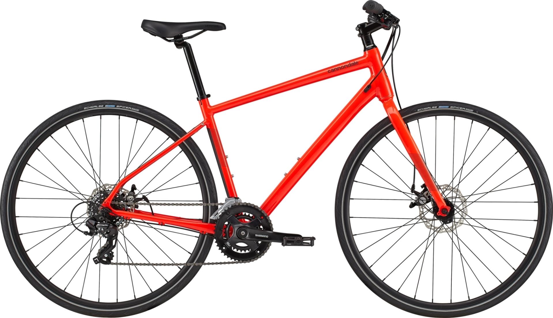 Cannondale Quick Disc 5 férfi fitness kerékpár - piros - M (2020)