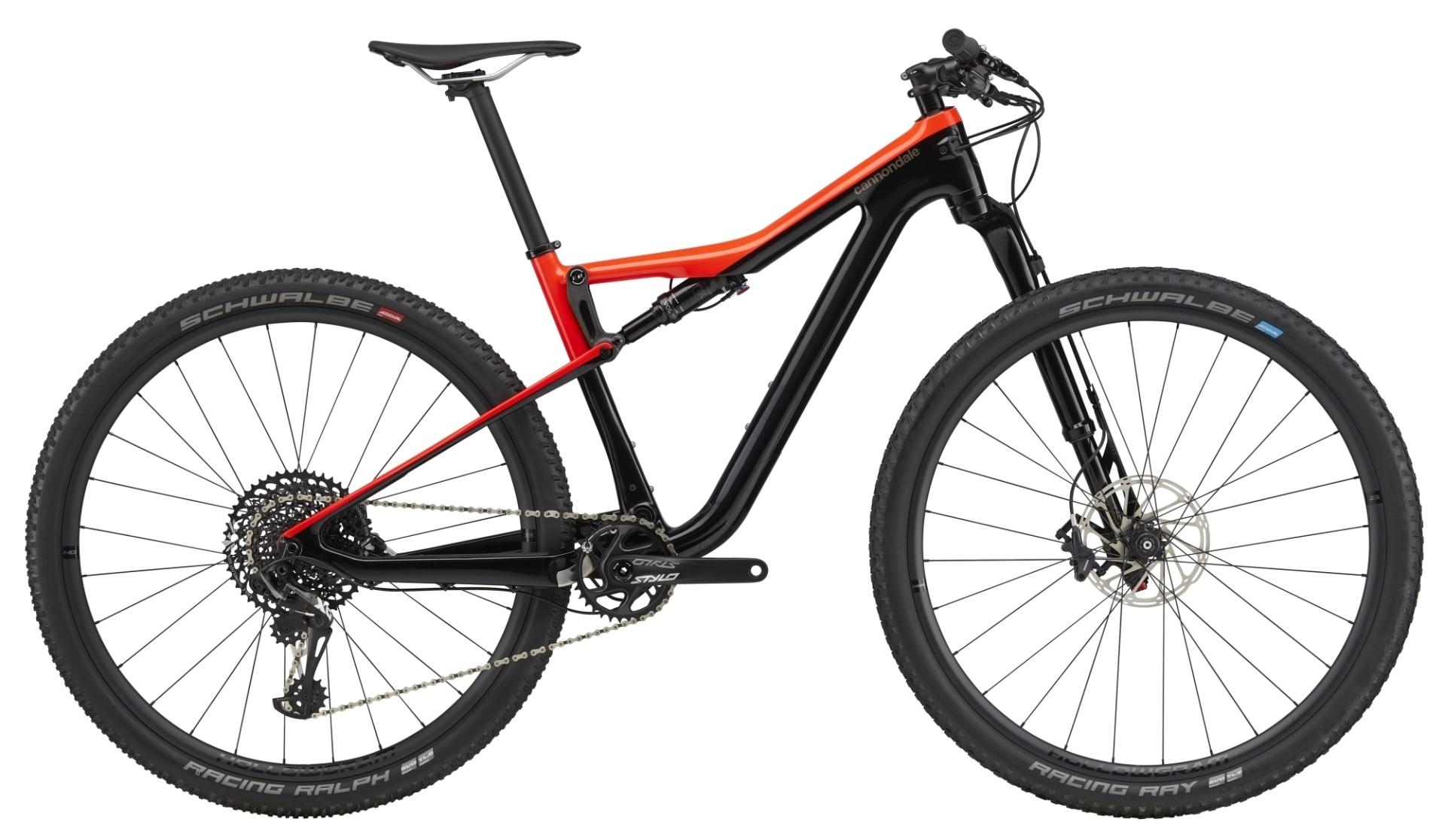 "Cannondale Scalpel Si 3 CARBON férfi 29"" Trail kerékpár - fekete - L (2020)"