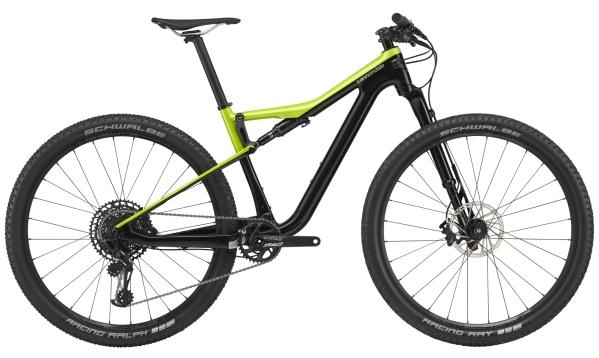 """Cannondale Scalpel Si Carbon 4 férfi 29"""" Trail kerékpár - fekete/sárga - L (2020)"""