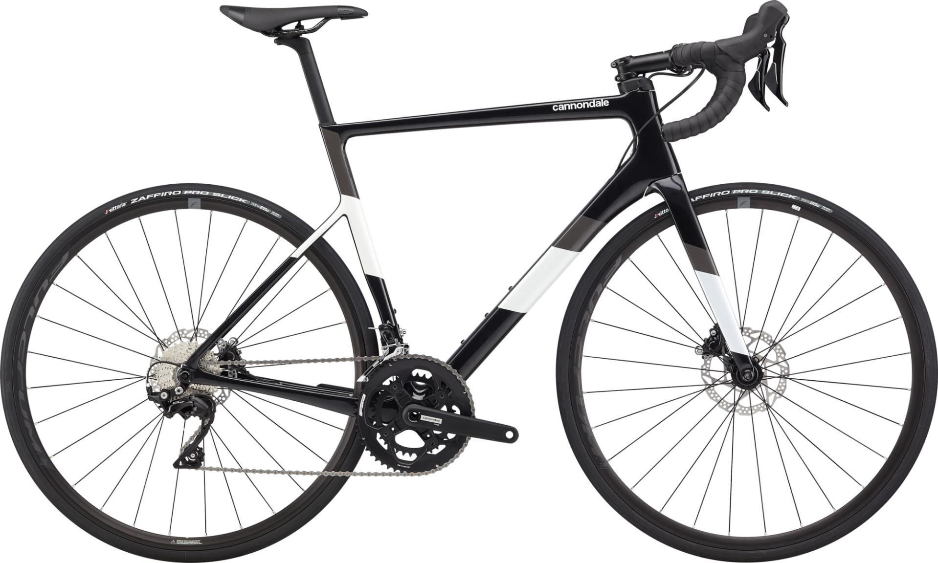 Cannondale Super Six Evo Carbon Disc 105 országúti kerékpár - fekete - 58 cm (2020)