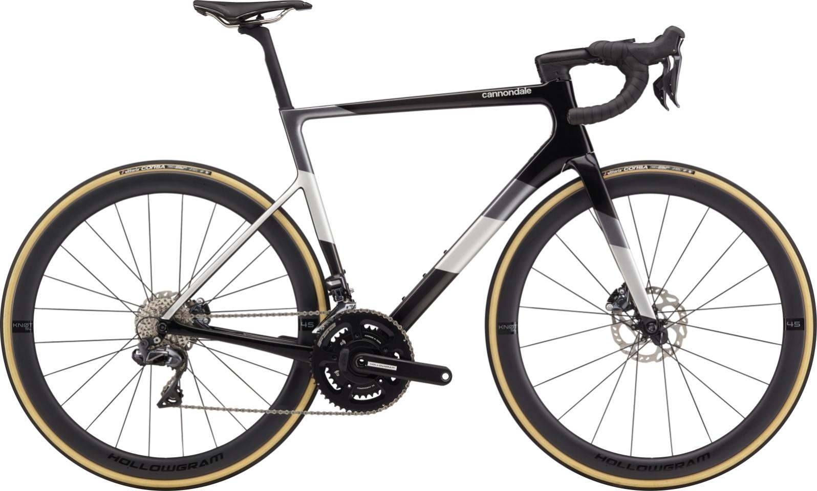 Cannondale Super Six Evo Hi-Mod Disc Ultegra Di2 országúti kerékpár - fekete - 60 cm (2020)