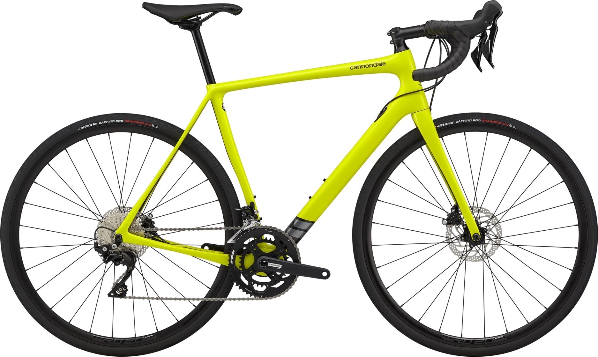Cannondale Synapse Carbon 105 országúti kerékpár - sárga - 56 cm (2020)