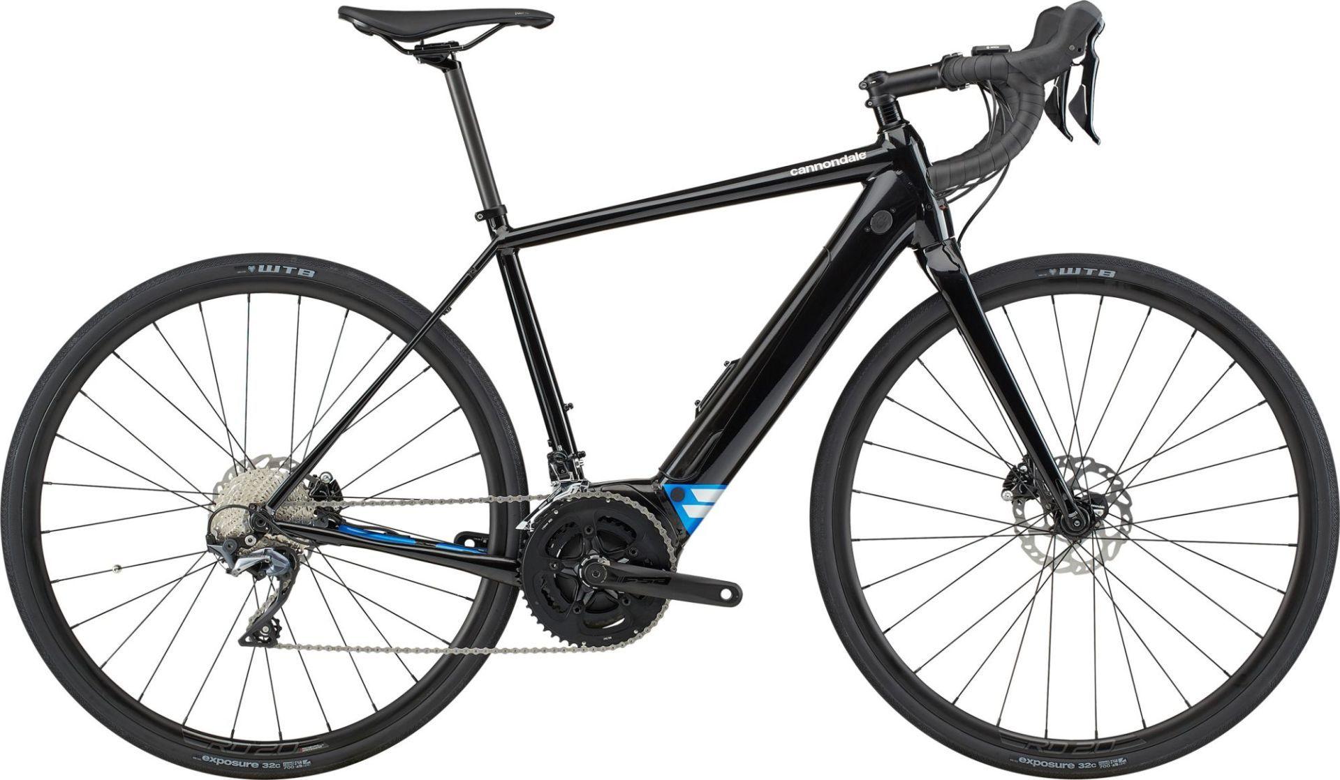 Cannondale Synapse Neo 1 országúti pedelec kerékpár - fekete - M (2020)