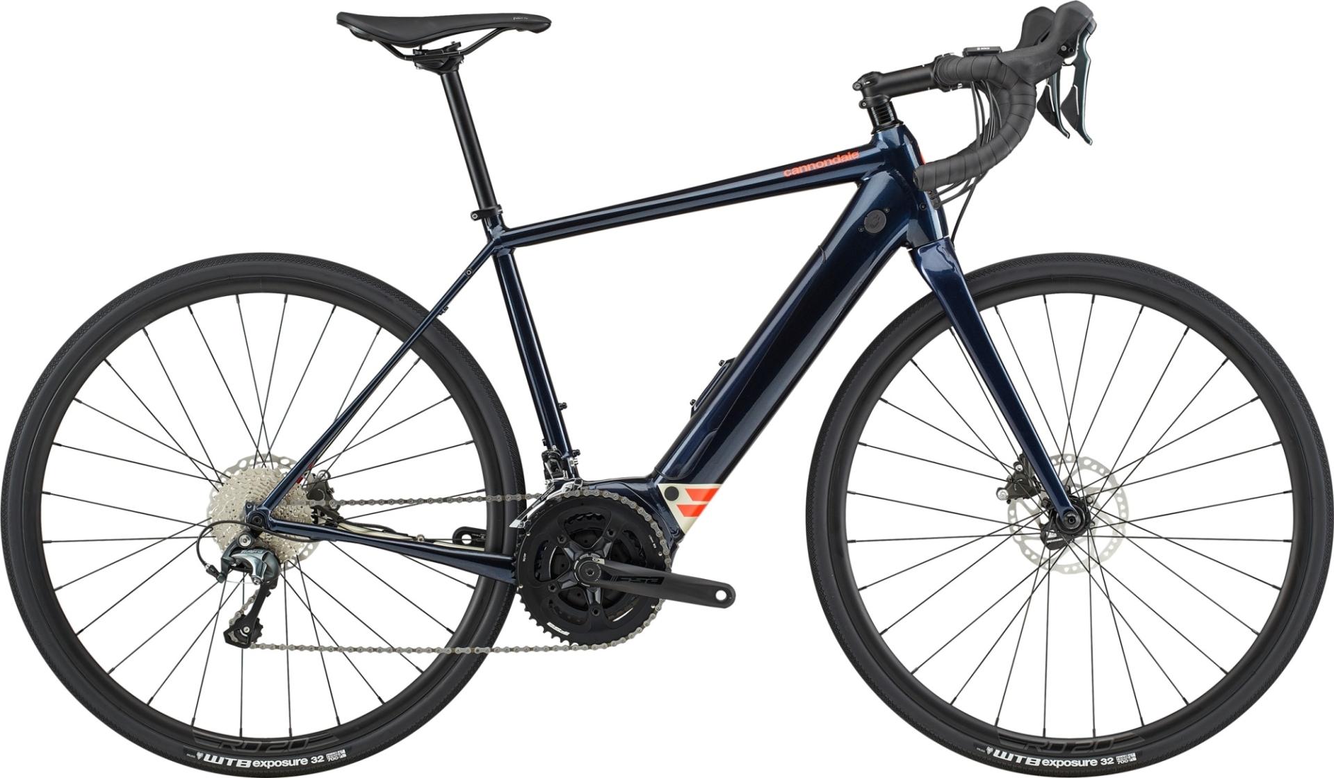 Cannondale Synapse Neo országúti pedelec kerékpár - sötétkék - M (2020)