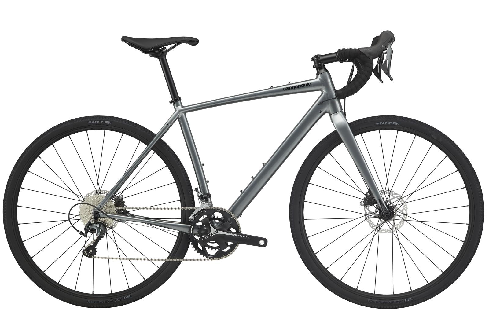 Cannondale Topstone Tiagra gravel kerékpár - szürke - L (2020)