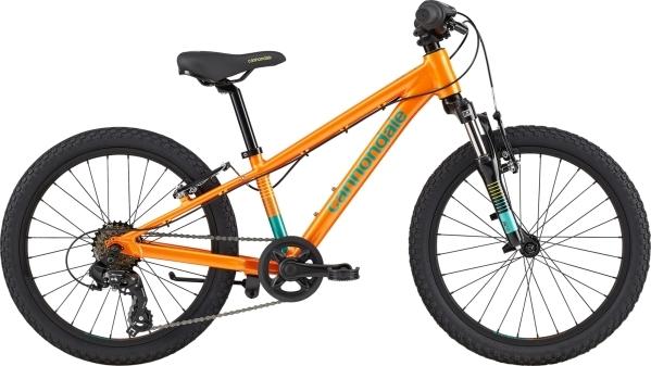"""Cannondale Trail 20"""" gyermek kerékpár - narancs (2020)"""
