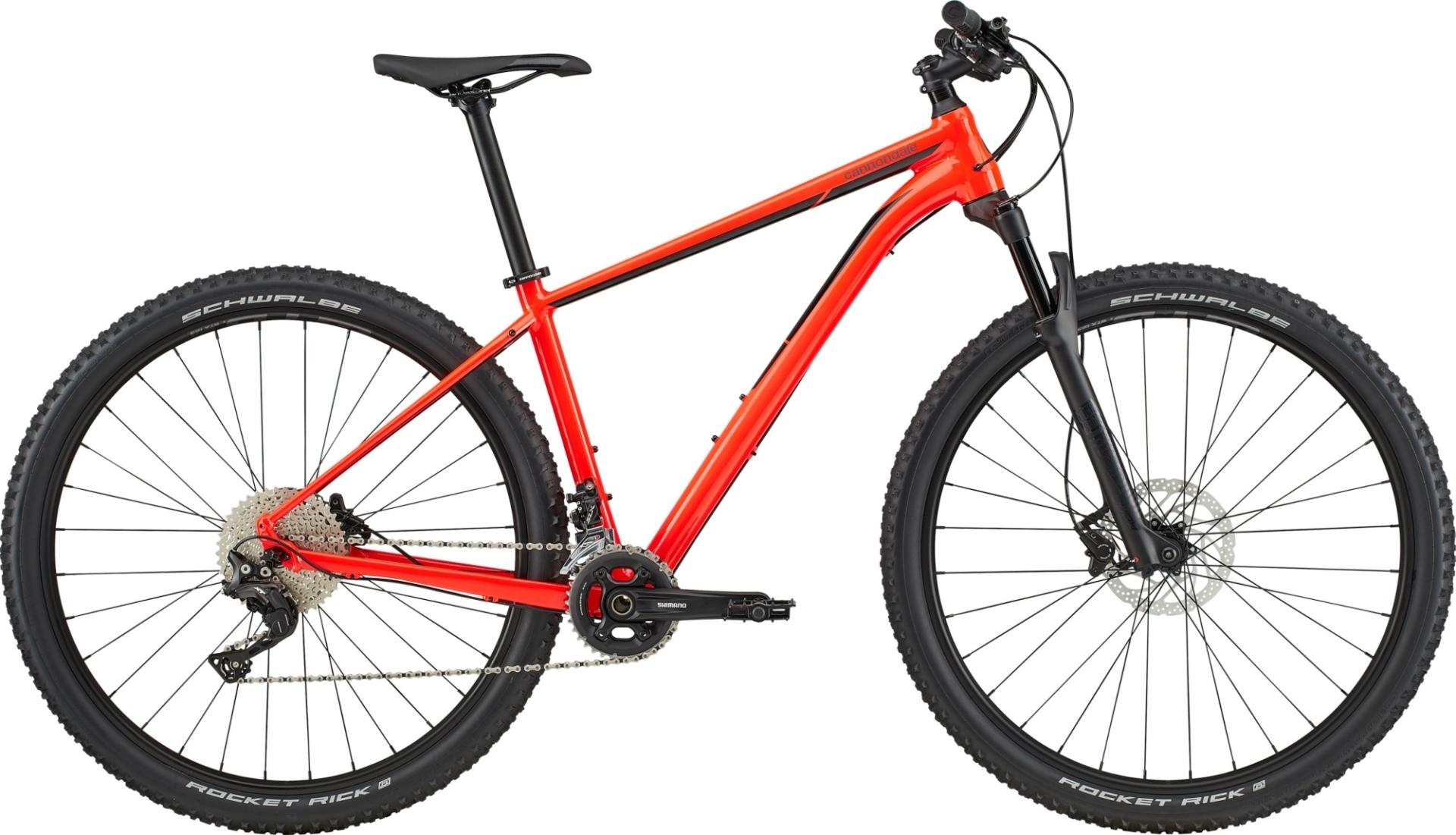 """Cannondale Trail 2 férfi 29"""" MTB kerékpár - piros - L (2020)"""