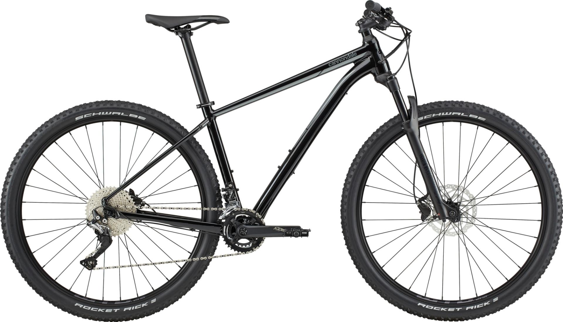 """Cannondale Trail 3 férfi 29"""" MTB kerékpár - fekete - L (2020)"""