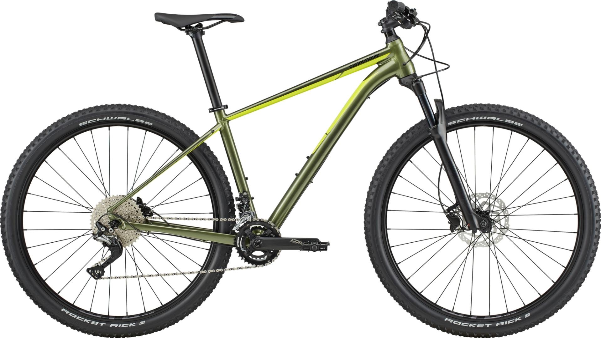 """Cannondale Trail 3 férfi 29"""" MTB kerékpár - zöld - L (2020)"""