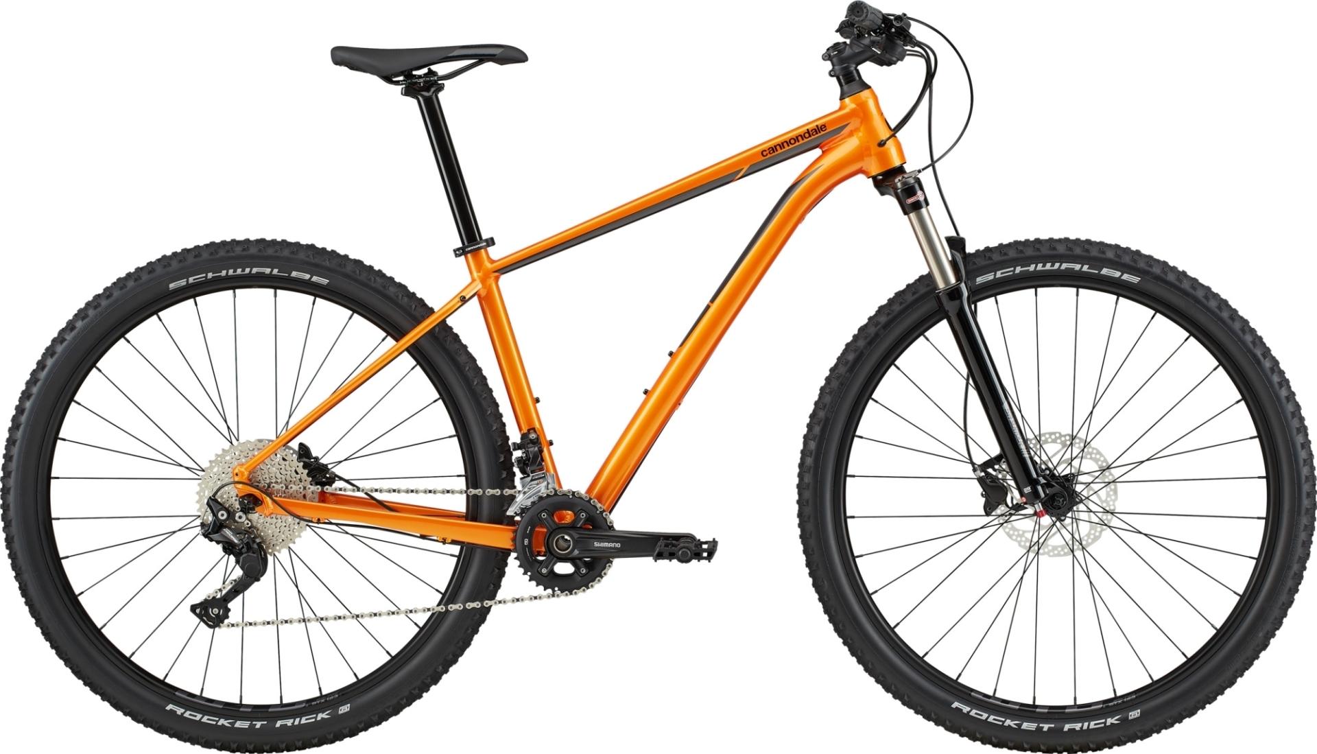 """Cannondale Trail 4 férfi 29"""" MTB kerékpár - narancs - M (2020)"""