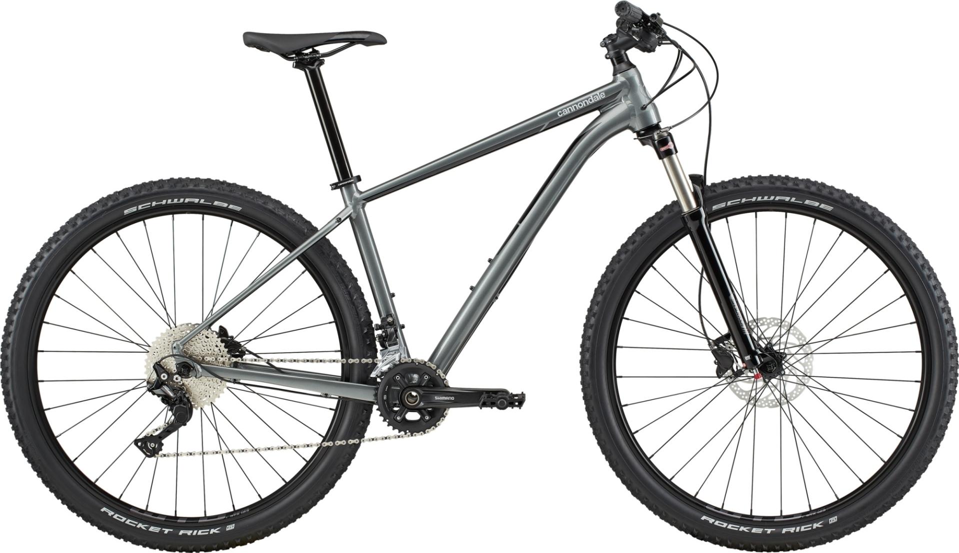 """Cannondale Trail 4 férfi 29"""" MTB kerékpár - szürke - XXL (2020)"""