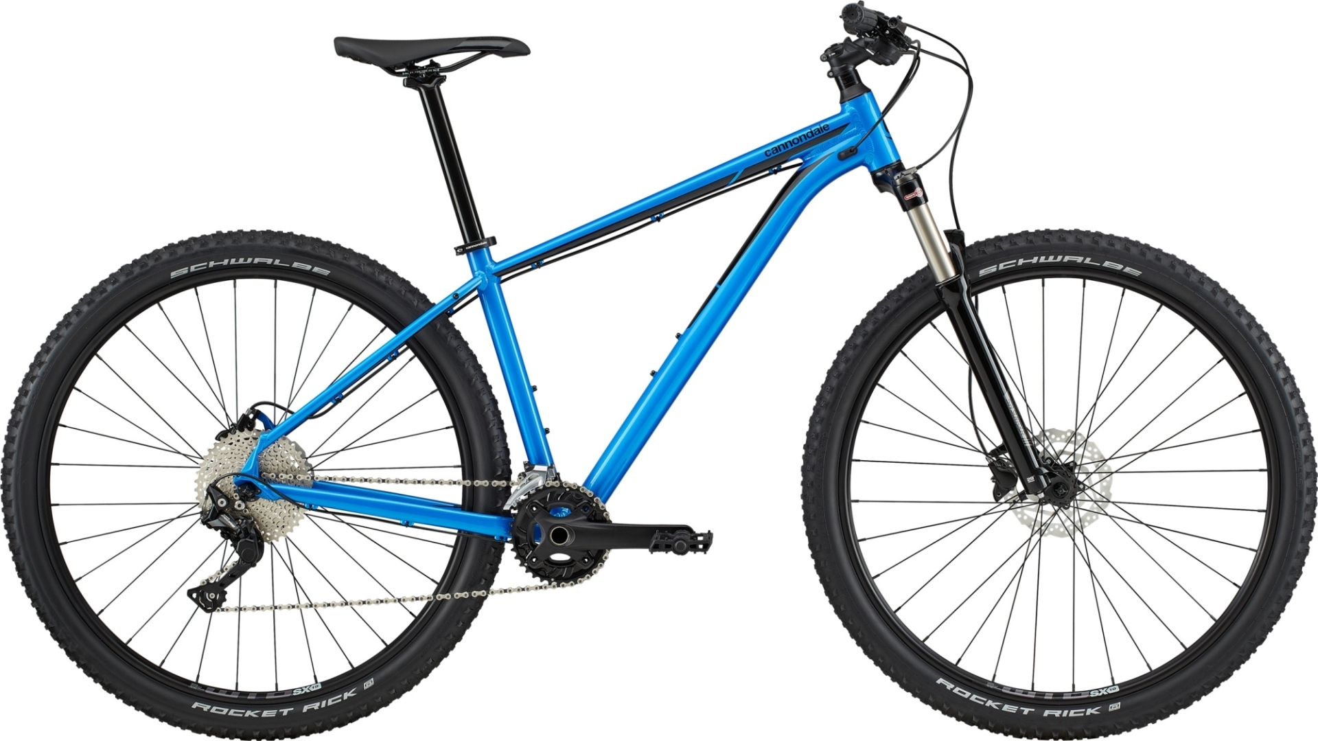"""Cannondale Trail 5 férfi 27.5"""" MTB kerékpár - kék - S (2020)"""