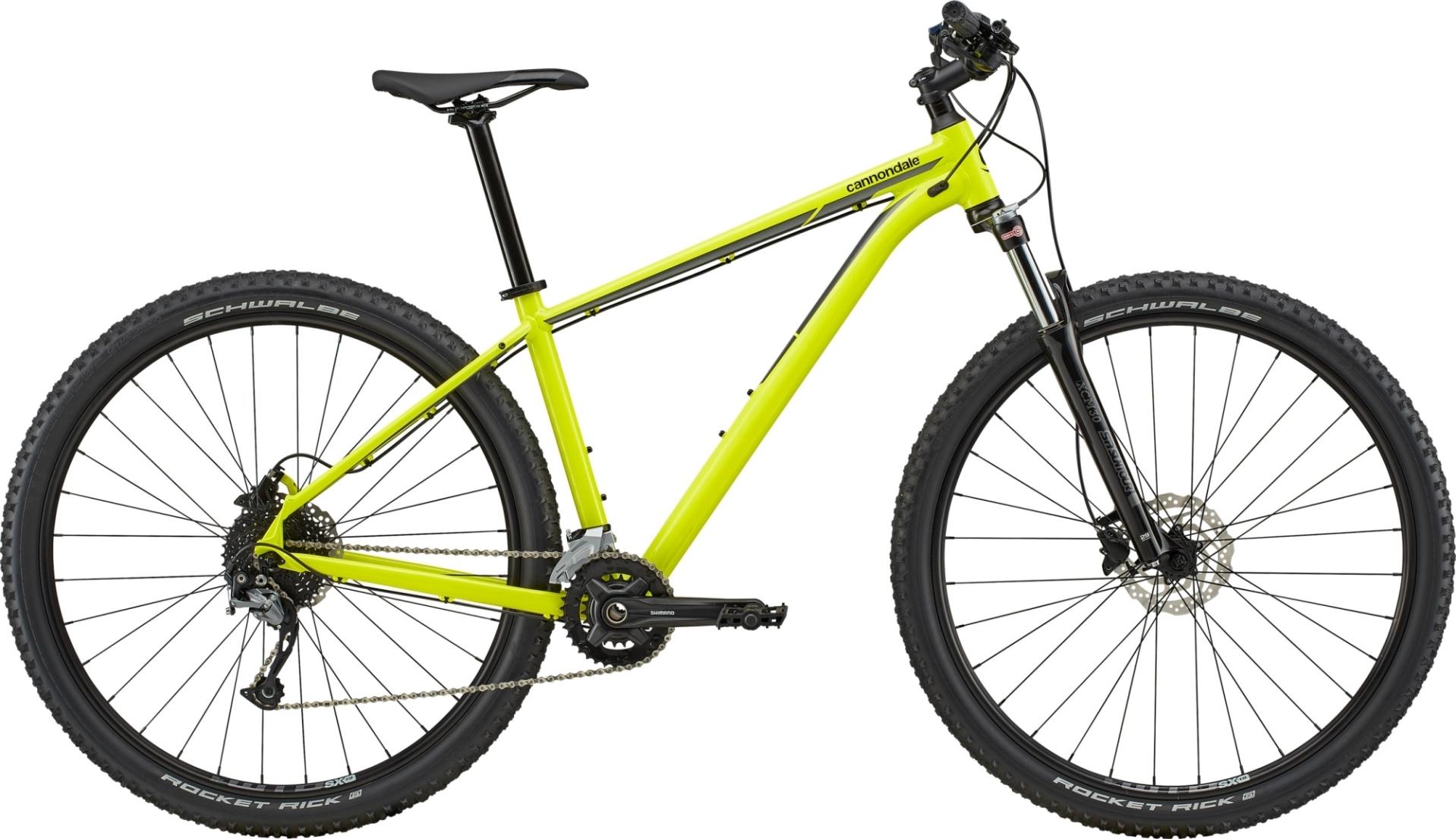 """Cannondale Trail 6 férfi 29"""" MTB kerékpár - sárga - XL (2020)"""