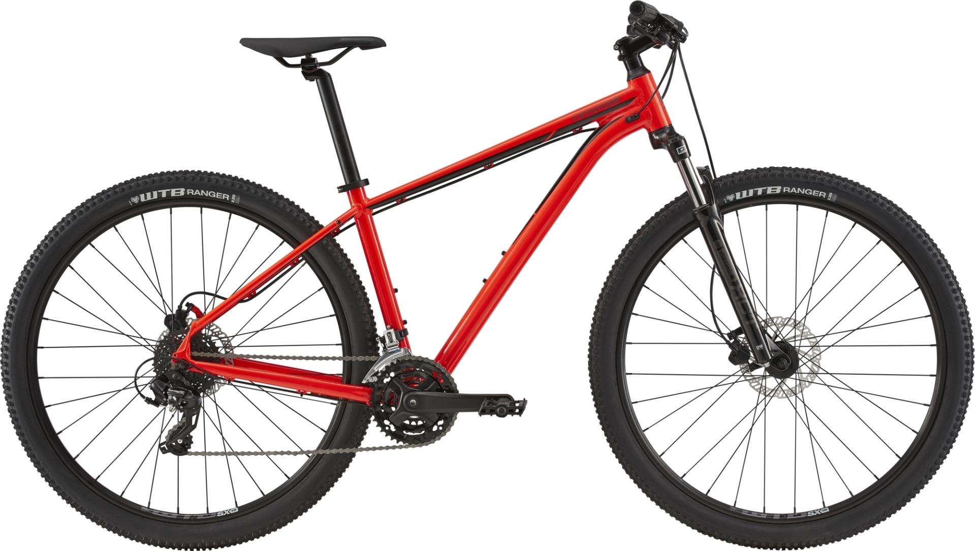 """Cannondale Trail 7 férfi 29"""" MTB kerékpár - piros - L (2020)"""