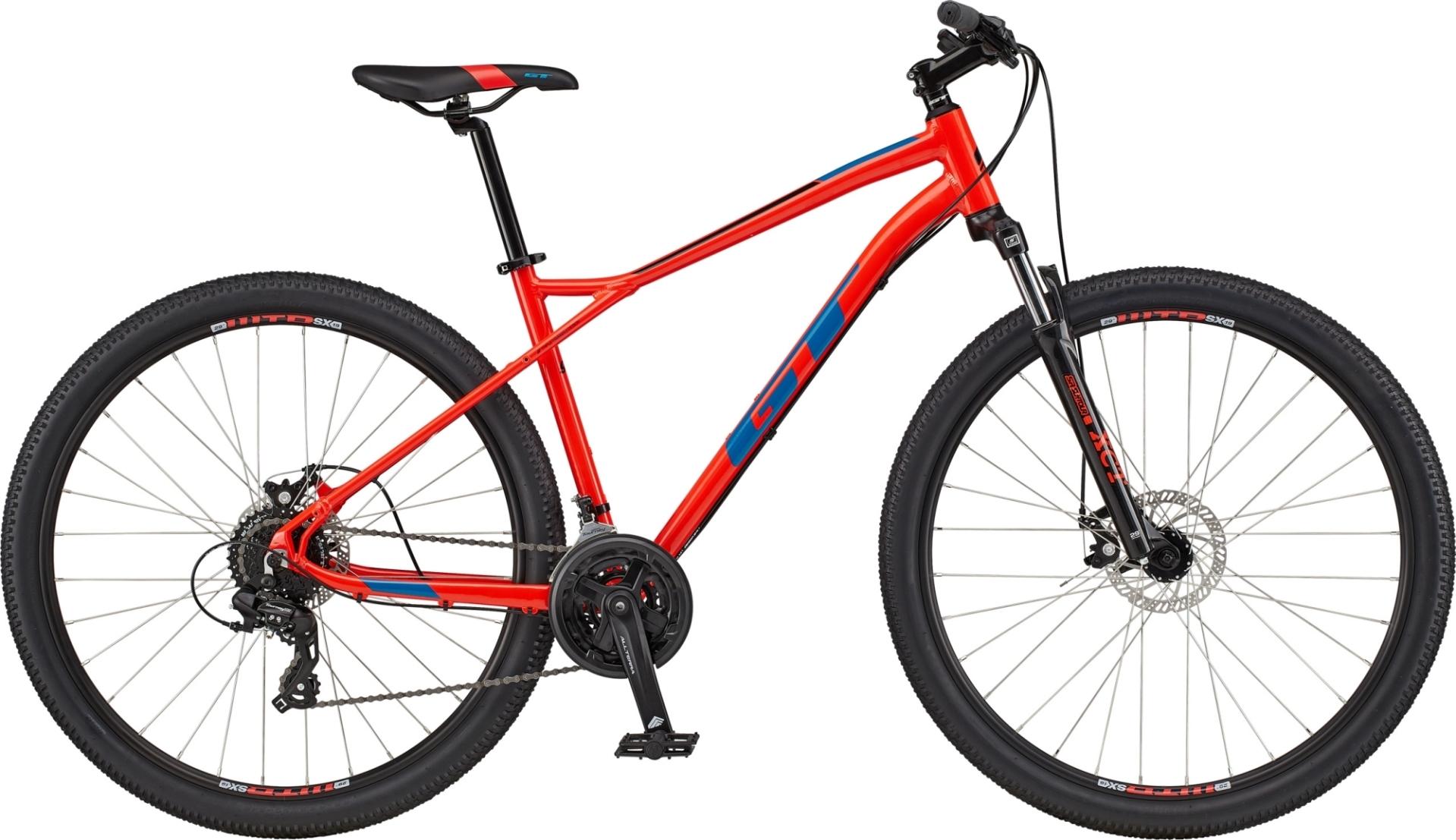 "GT Aggressor Comp férfi 27,5"" MTB kerékpár - piros - XS (2020)"
