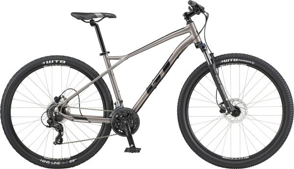 "GT Aggressor Expert férfi 27.5"" MTB kerékpár - ezüst - M (2020)"