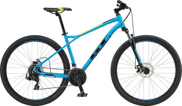 "GT Aggressor Sport férfi 29"" MTB kerékpár - cián - L (2020)"