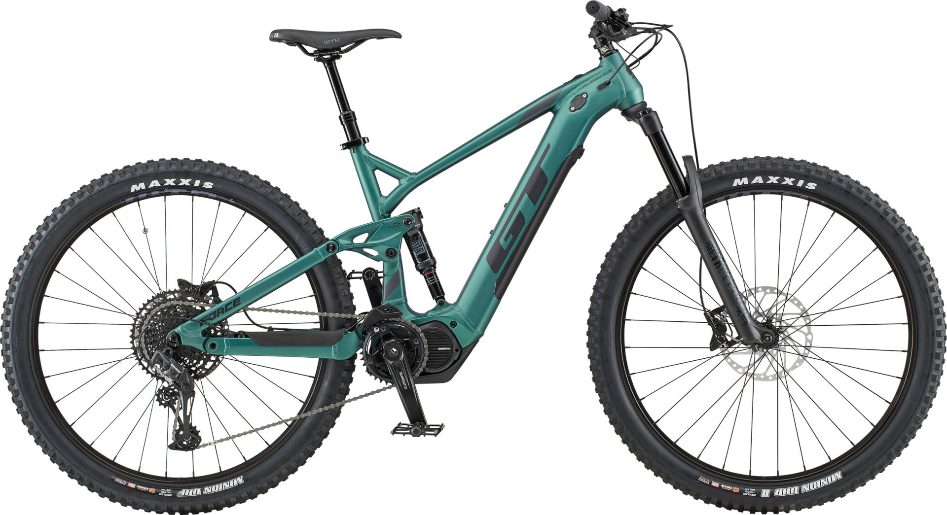 """GT e-Force AMP férfi 29"""" MTB pedelec kerékpár - zöld - L (2020)"""