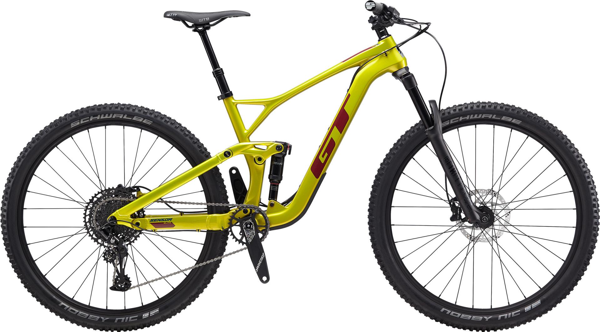 """GT Sensor Carbon Elite férfi 29"""" trail kerékpár - sárga - L (2020)"""