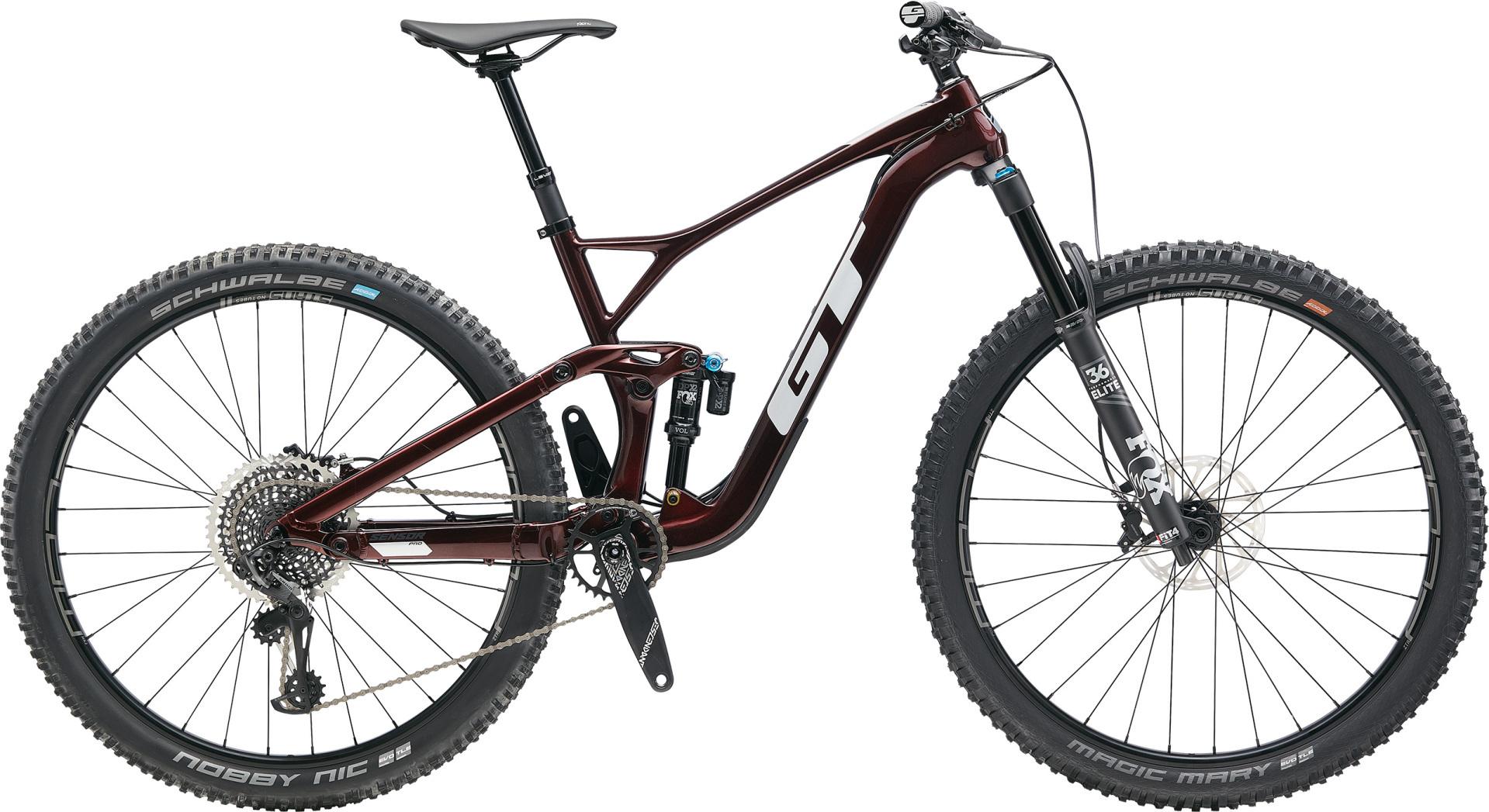 """GT Sensor Carbon Pro férfi 29"""" trail kerékpár - bordó - L (2020)"""