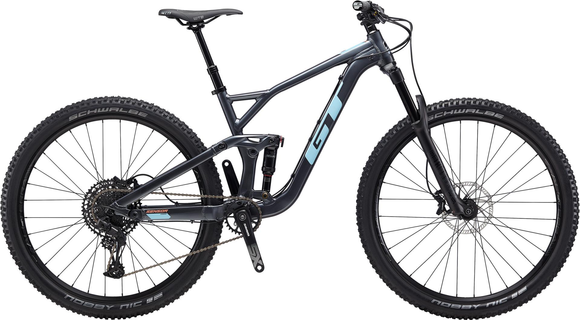 """GT Sensor Comp férfi 29"""" trail kerékpár - kék - L (2020)"""