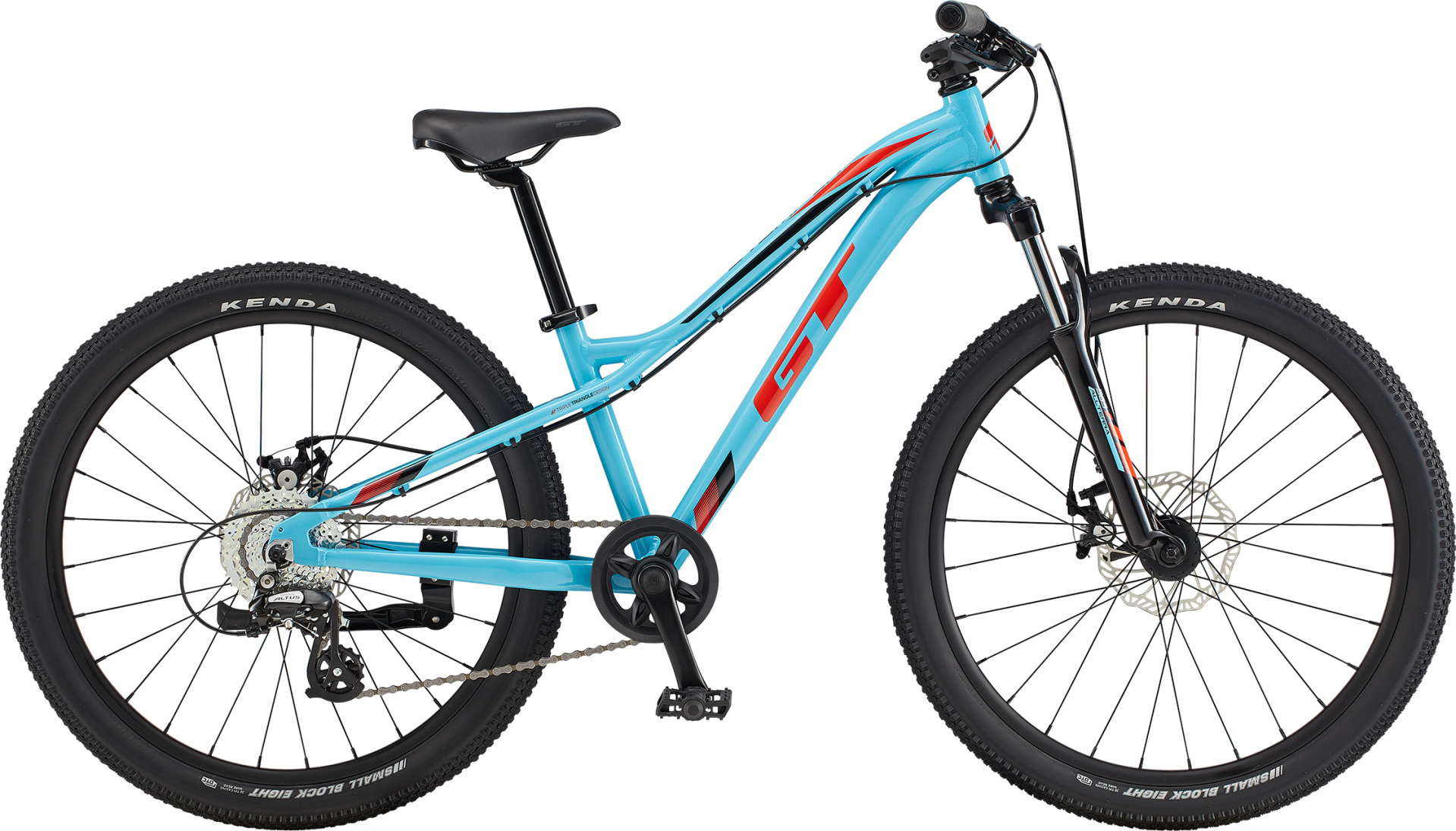 """GT Stomper Ace 24"""" gyermek kerékpár - aqua (2020)"""