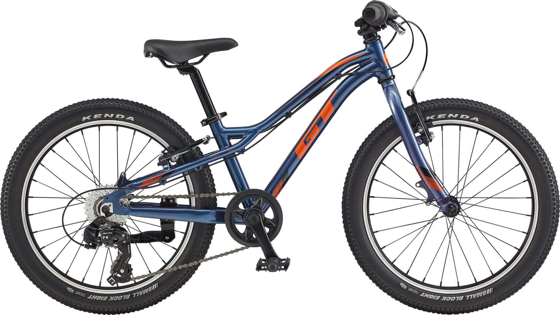 """GT Stomper Prime 20"""" gyermek kerékpár - kék/narancs (2020)"""
