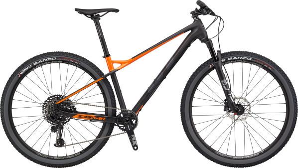 """GT Zaskar Carbon Expert férfi 29"""" MTB kerékpár - fekete/narancs - L (2020)"""