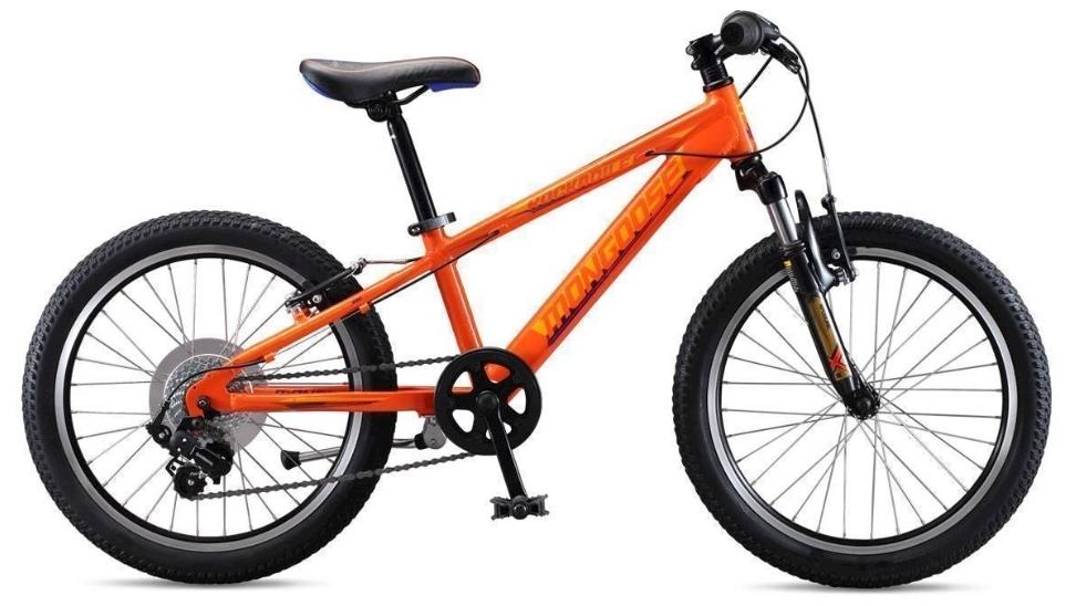 """Mongoose ROCKADILE 20"""" gyermek kerékpár - narancs (2020)"""