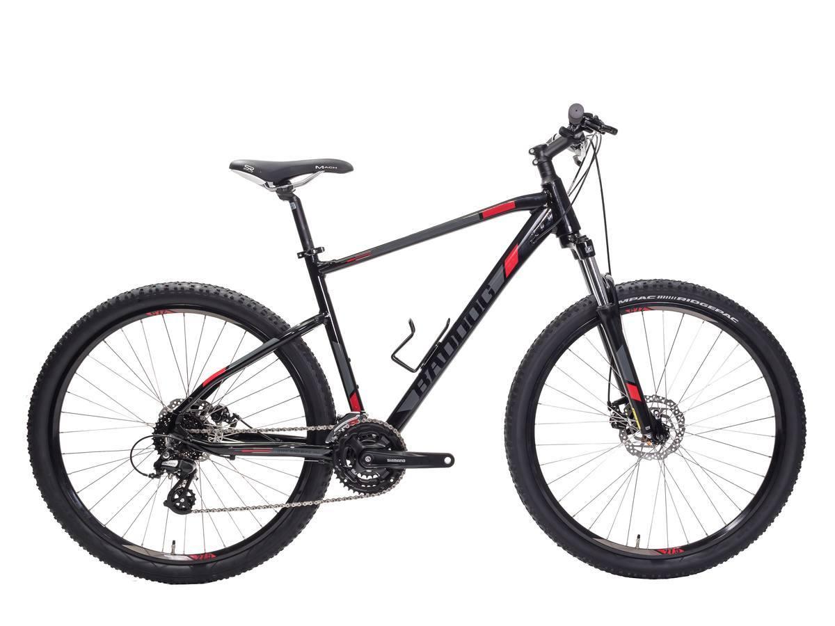 BadDog Swissy 8.1 férfi 27.5 MTB kerékpár - fényes fekete - 43 cm (2019)