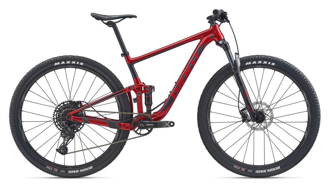 """Giant Anthem 3 férfi 29"""" összteleszkópos MTB kerékpár - piros - M (2020)"""